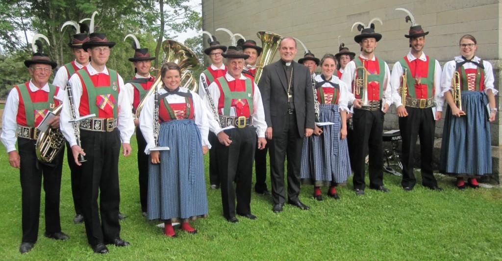 Böhmische mit Bischof Muser